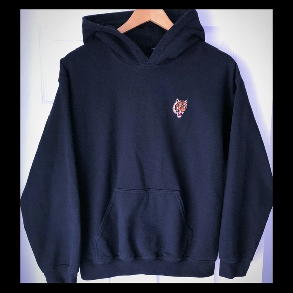 Artist Union Clothing Co Shirts Mens Hoodie With Tiger Patch
